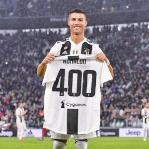 クリスティアーノ・ロナウド選手が、欧州5大リーグで通算400ゴールを達成!!