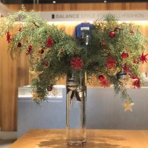 バランススタイル大阪|一足先に店内はクリスマスモードに早変わり!