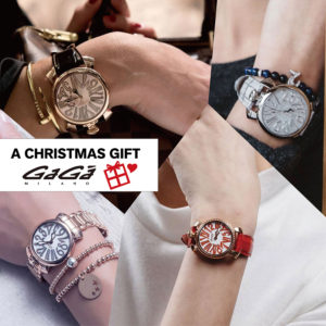【Xmas Gift 特集】男性から女性へ贈るGaGa MILANOの腕時計♡