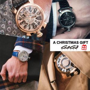 【Xmas Gift 特集】女性から男性へ贈るGaGa MILANOの腕時計♡