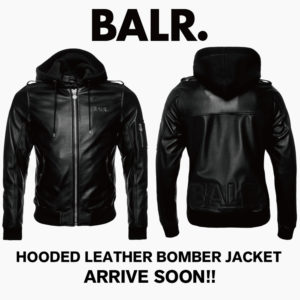 BALR.|日本初上陸!レザージャケット&ロゴソックスがまもなく到着!