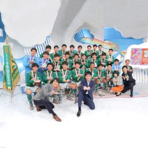 全国制覇を成し遂げた青森山田高校サッカー部が日本テレビの「ZIP!」に生出演!足元にはAtlantic STARSのスニーカー!!