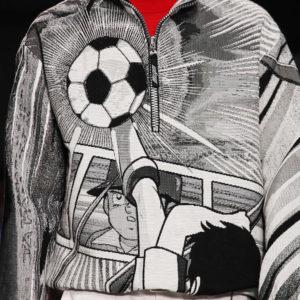 """大人気サッカーアニメ""""キャプテン翼""""が「MSGM」の新コレクションのデザインとして登場!!"""