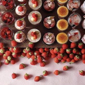 """イチゴの季節到来!食べにいきたい""""デザートビュッフェ""""♡"""