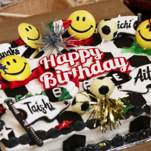 2月!年に一度の大バースデーパーティー!#TEAM BALANCEのキュートなケーキが登場編