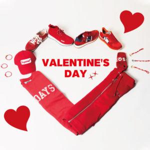 "VALENTINE'S DAY|ギフトにぴったりの""レッド""アイテム特集♡"