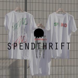 この1枚で楽しめる!SPENDの遊び心溢れるトリコローレカラーTシャツ!