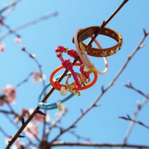 季節を感じる腕元に♡春カラーブレスレットをご紹介!