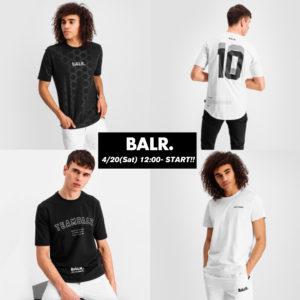 【新登場】BALR.|新たなデザインに注目!4/20(土)より新作Tシャツが全店舗にて発売開始!