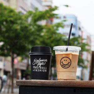 BALANCE cafe|ニコちゃんで可愛さアップ!コーヒーカップが新しくなりました♡