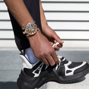"""どこへ行くにも共に!GaGa MILANOの腕時計""""CRYSTAL""""モデル。"""