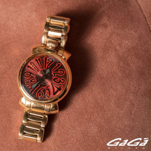 GaGa Milano|女の子はゴールドがお好き♡ジュエリー感覚で身に付けたい腕時計!