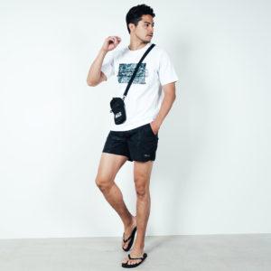 海を感じるSUMMERコーデ!BALR.のTシャツとスイムウェアでこの夏をENJOY!