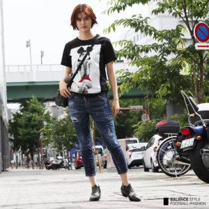 SPEND × DSQUARED2|ブラックTシャツと合わせたサマーコーデ♡