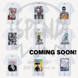 【新登場】SPEND|新作Tシャツ第1弾が間も無く到着!