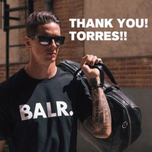 ありがとうトーレス!BALR.を愛用するフェルナンド・トーレス選手引退記念SNSキャンペーン!