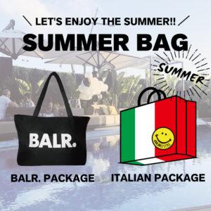 【ラスト1日!】SUMMER BAGを店舗でも数量限定で発売!!