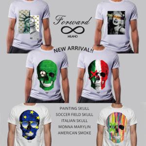 """【新入荷&再入荷】色鮮やかな""""Forward Milano""""デザインTシャツが遂に到着!"""