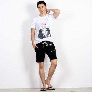 デザイン力で決める!ショートパンツ×Tシャツでサマーコーデ!