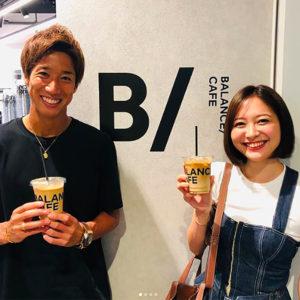 BALANCE CAFE 表参道ヒルズ|横浜F・マリノスの大津祐樹選手がご来店!