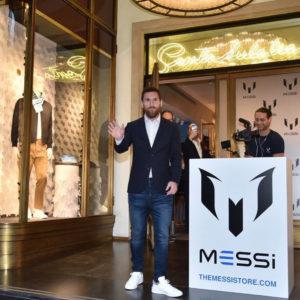 FCバルセロナのリオネル・メッシ選手の注目ブランド「MESSI」が発売開始!!