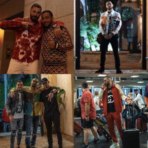 レアル・マドリードのカリム・ベンゼマ選手の個性派ファッションに注目!