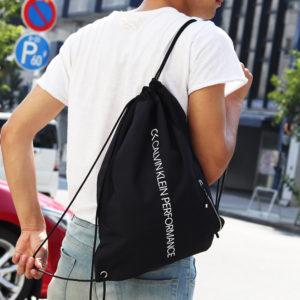 【新登場】カルバンクライン パフォーマンス|スポーティーに決まる!ロゴデザインのバックパックが登場!