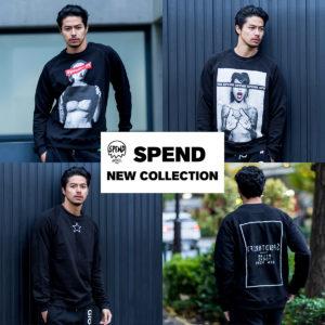【新登場】SPEND 新作Tシャツ・ロンT・スウェットが11/28(木)より全店舗にて発売開始!