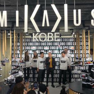 イニエスタ選手が手掛けるブランド「MIKAKUS」初の店舗が神戸に登場!!