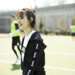 岩田絵莉佳さんが企画するフットサルイベント『EI futsal』へ向けて。