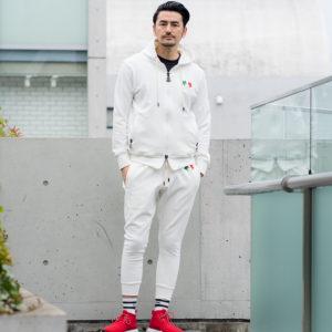 GIOCATORE|ホワイトカラーのセットアップでラフな大人の着こなしを!
