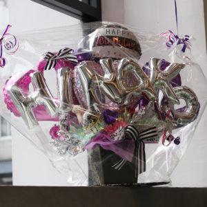 スタッフ坂根、2月19日に誕生日を迎えました!素敵なバルーンギフト&ケーキをいただきました!
