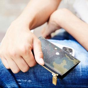 サイズもお会計もスマートに!GENTIL BANDITの新作マルチカードケース!