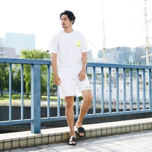 夏モード全開!!ホワイトコーデにネオンカラーで鮮やかさをプラス!