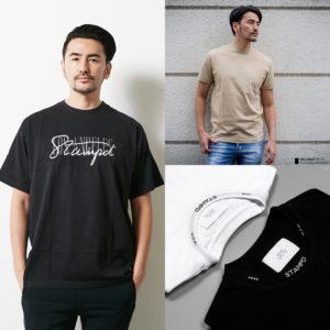 STAMPD|これからの季節におすすめしたいスタンプドのTシャツ3選!