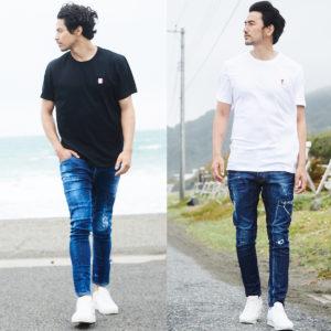 シンプルコーデはこだわりの「デニム× Tシャツ」スタイルで決める!