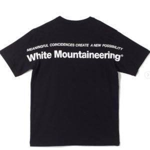 White Mountaineering|こだわりは40/2度詰め。タフな1枚でこの夏を楽しむ!