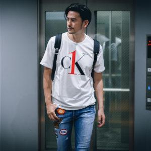 アクティブに快適に過ごせるTシャツ!Calvin Kleinで夏を爽やかに!