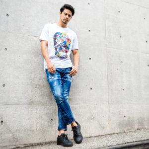 芸能人御用達!FORWARD MILANOのスカルTシャツ!