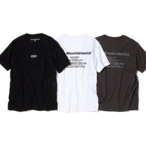 White Mountaineering|デザイン、実用性、技術。3つのコンセプトの融合をで魅せるバックロゴTシャツ!