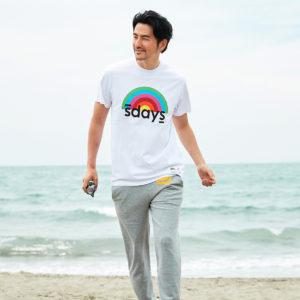 S'DAYS|晴れた日には笑顔になれるレインボーTシャツを!