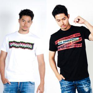 DSQUARED2 特徴的なロゴデザインTシャツで周りと差をつける!