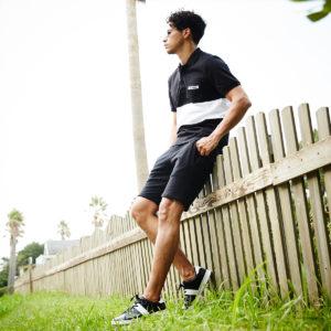 夏でもシックに!BLACKで着こなすポロシャツスタイル!
