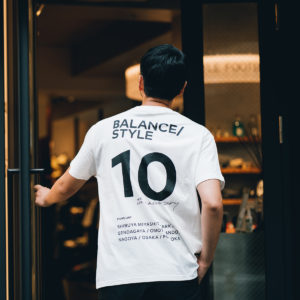 BALANCE STYLE 10th Anniversary!記念すべき限定Tシャツを見逃すな!