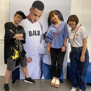 BALANCE STYLE SHOWROOM|田村淳さんが新作展示会にご来場!