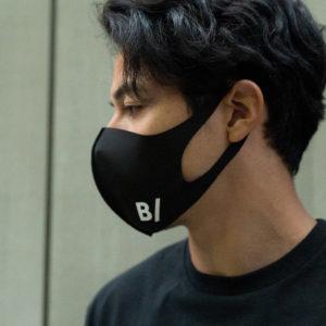 【新入荷 & 再入荷】B/ 完売続出のマスクから再入荷のブラック・新色グレーが登場!