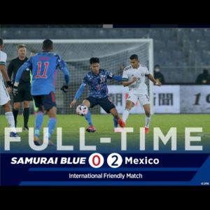 サッカー日本代表 強豪メキシコに惜しくも敗戦!随所にチャンスを作るもゴールを奪えず!