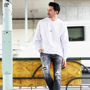"MSGM|""オーバーサイズ""のロングTシャツは、さりげないミニロゴデザインで!"