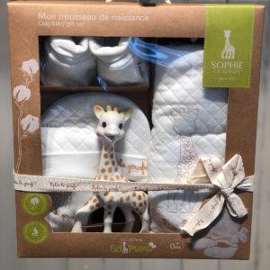 キリンのソフィー|赤ちゃんに愛されるキュートな見た目からプレゼントにも最適の5点セット!