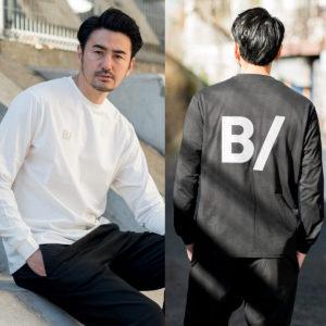 """B/ オールシーズン活躍する""""ロンT""""は外せないマストアイテム!"""